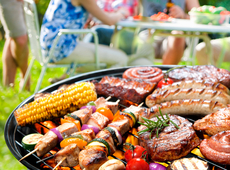 barbecue op 20 augustus